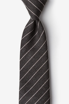 _Glenn Heights Charcoal Tie_