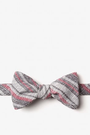 _Katy Charcoal Self-Tie Bow Tie_