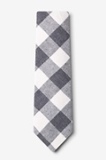 Kent Charcoal Extra Long Tie Photo (1)