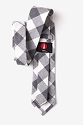Kent Charcoal Extra Long Tie Photo (2)