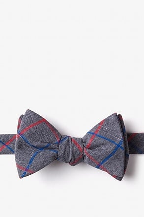 _Maricopa Charcoal Self-Tie Bow Tie_