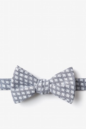 _Poway Charcoal Self-Tie Bow Tie_