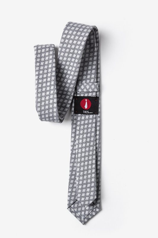 Poway Charcoal Skinny Tie Photo (2)