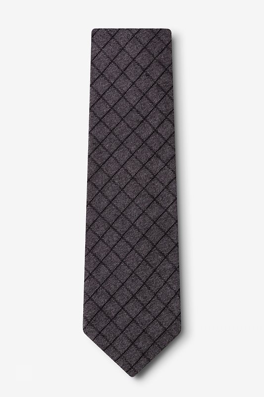 San Luis Charcoal Extra Long Tie Photo (1)
