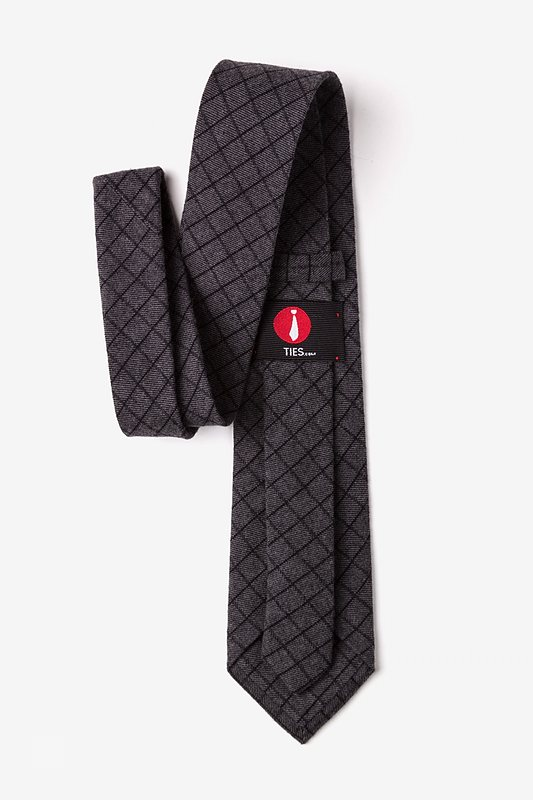 San Luis Charcoal Extra Long Tie Photo (2)