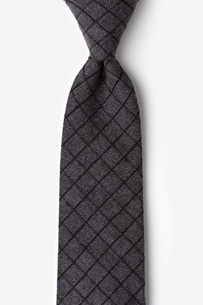 San Luis Charcoal Extra Long Tie