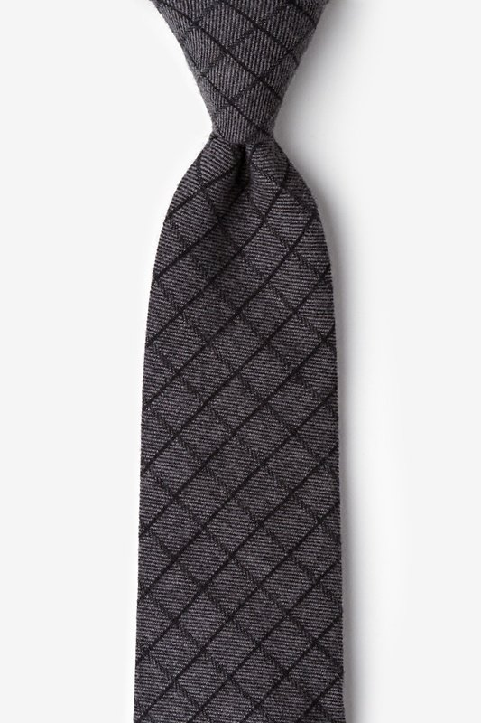 San Luis Charcoal Extra Long Tie Photo (0)