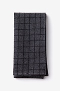 Charcoal Cotton San Luis Pocket Square