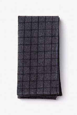 San Luis Charcoal Pocket Square