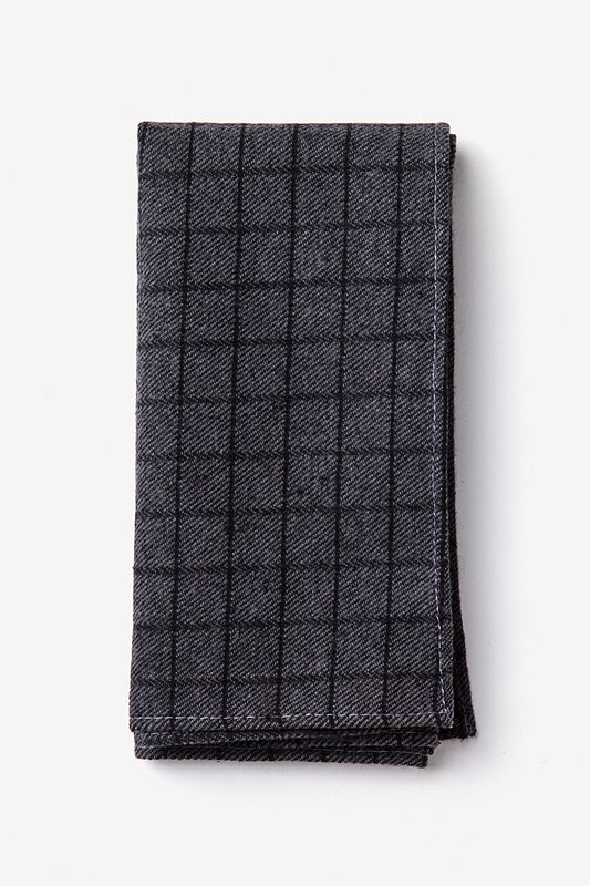 San Luis Charcoal Pocket Square Photo (0)