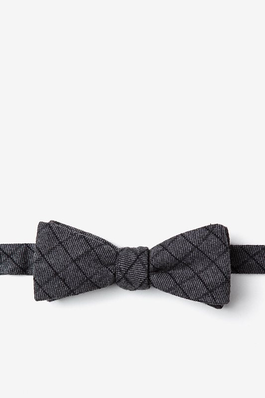 San Luis Charcoal Skinny Bow Tie Photo (0)