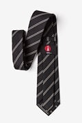 Seagoville Charcoal Extra Long Tie Photo (2)