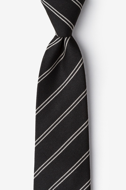 Seagoville Charcoal Extra Long Tie Photo (0)
