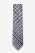 Seattle Charcoal Skinny Tie Photo (1)