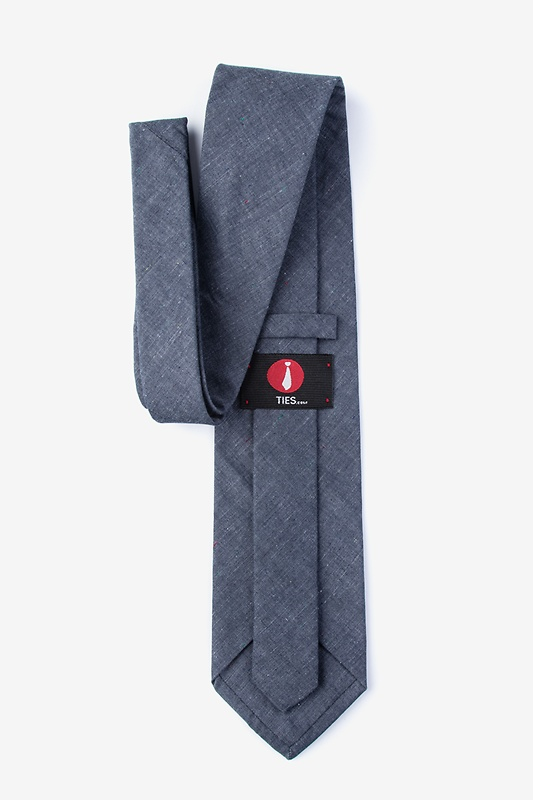 Teague Charcoal Extra Long Tie Photo (1)