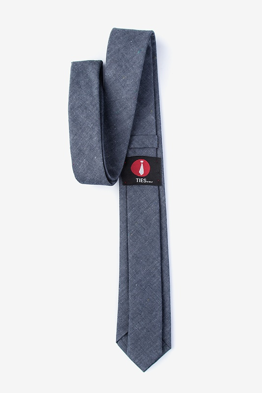 Teague Charcoal Skinny Tie Photo (1)