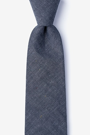 Teague Charcoal Tie