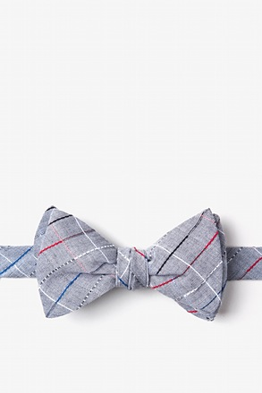 Tom Charcoal Self-Tie Bow Tie