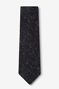 Wilsonville Charcoal Extra Long Tie Photo (1)