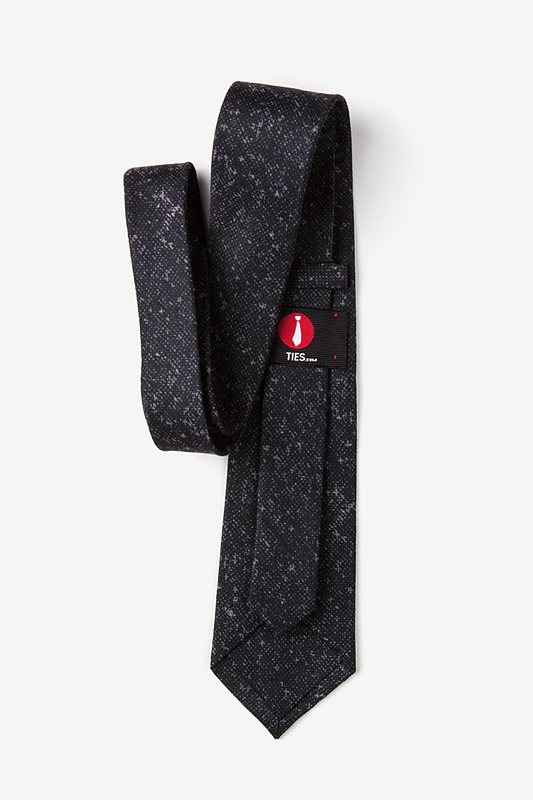 Wilsonville Charcoal Extra Long Tie Photo (2)