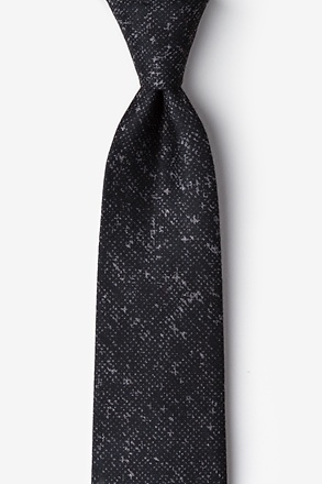 _Wilsonville Charcoal Extra Long Tie_