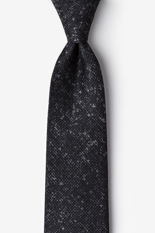 Wilsonville Charcoal Extra Long Tie Photo (0)