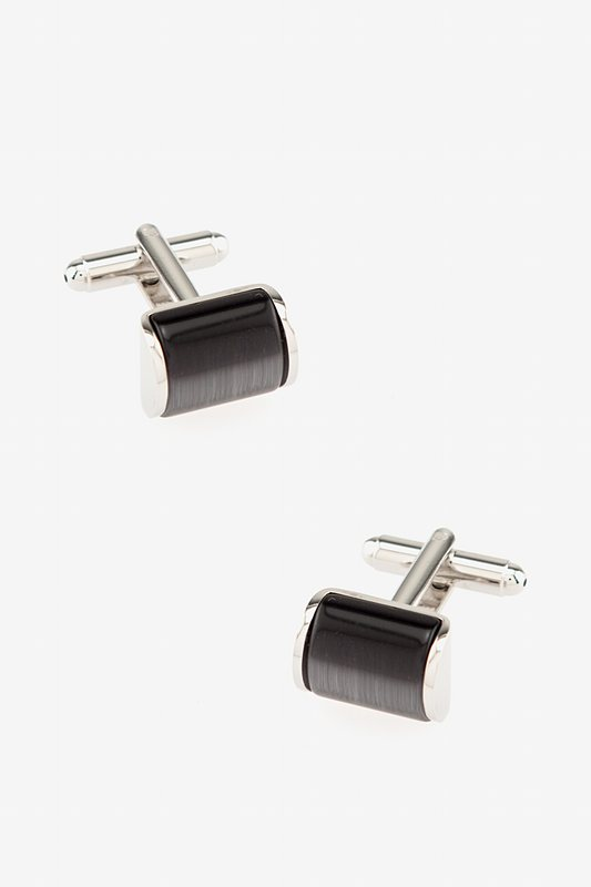 Cat Eye Arch Cufflinks Photo (0)