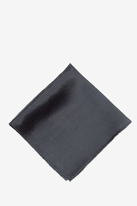 Charcoal Pocket Square Photo (0)