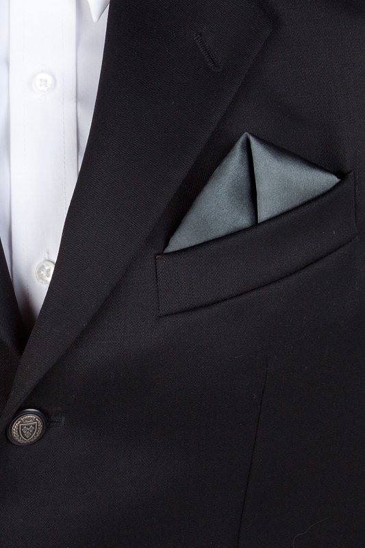 Charcoal Pocket Square Photo (2)