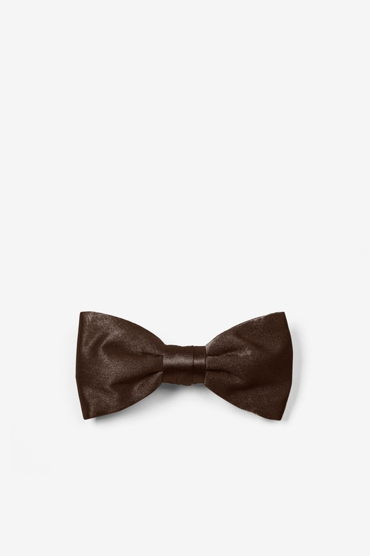 Chestnut Bow Tie For Infants