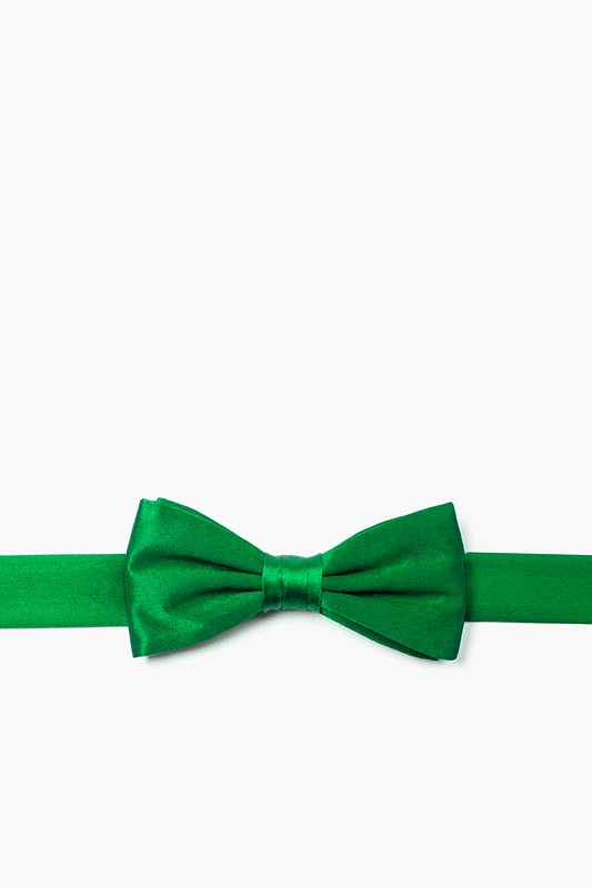 Christmas Green Bow Tie For Boys