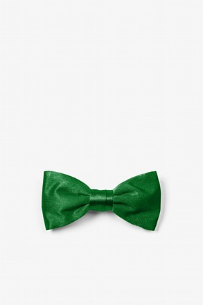 Christmas Green Bow Tie For Infants