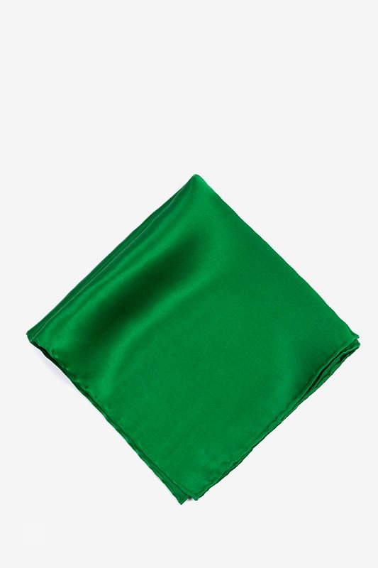 Christmas Green Pocket Square Photo (0)