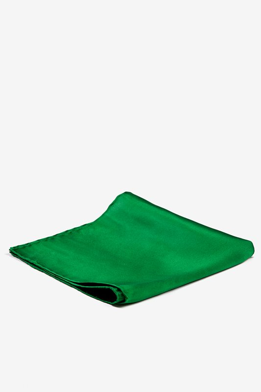 Christmas Green Pocket Square Photo (1)