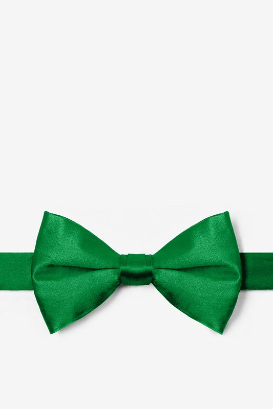 Christmas Green Pre-Tied Bow Tie Photo (0)
