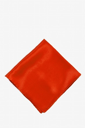 Christmas Red Pocket Square