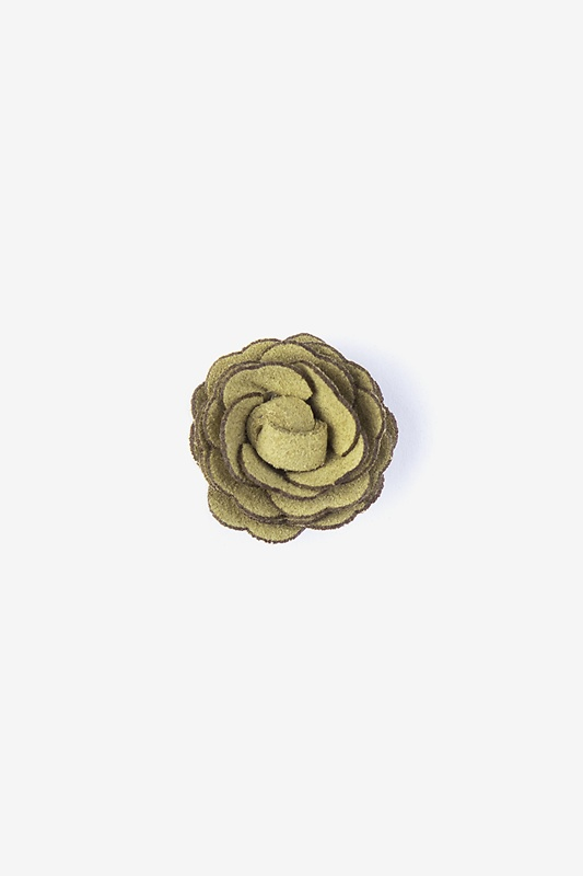 Mini Flower Citrine Lapel Pin Photo (0)