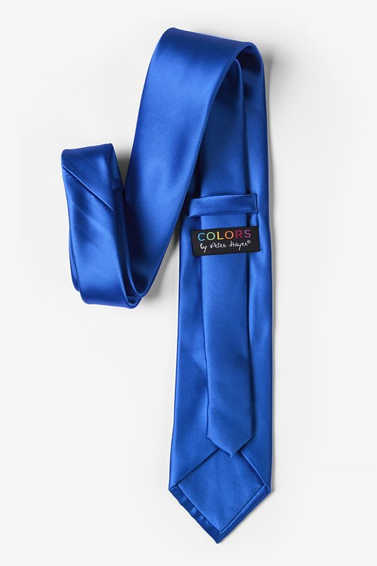 Classic Blue Extra Long Tie Photo (2)