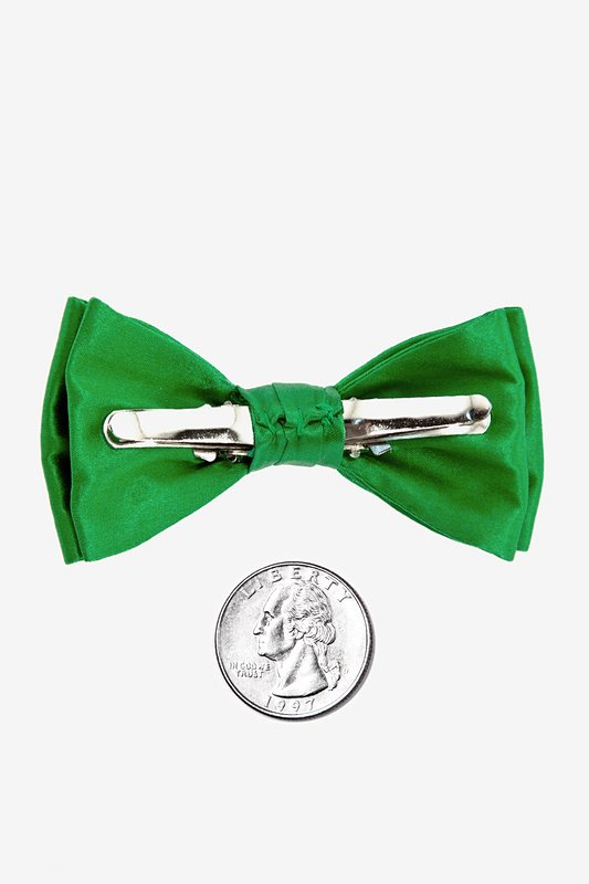 Classic Green Bow Tie For Infants Photo (1)