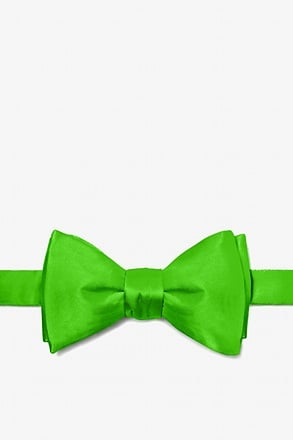 _Classic Green Self-Tie Bow Tie_