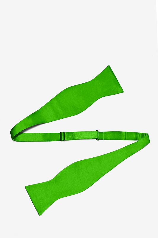 Classic Green Self-Tie Bow Tie