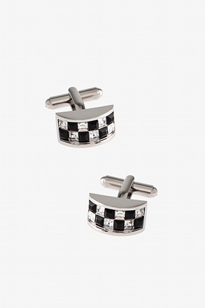 _Bejeweled Arch Cufflinks_