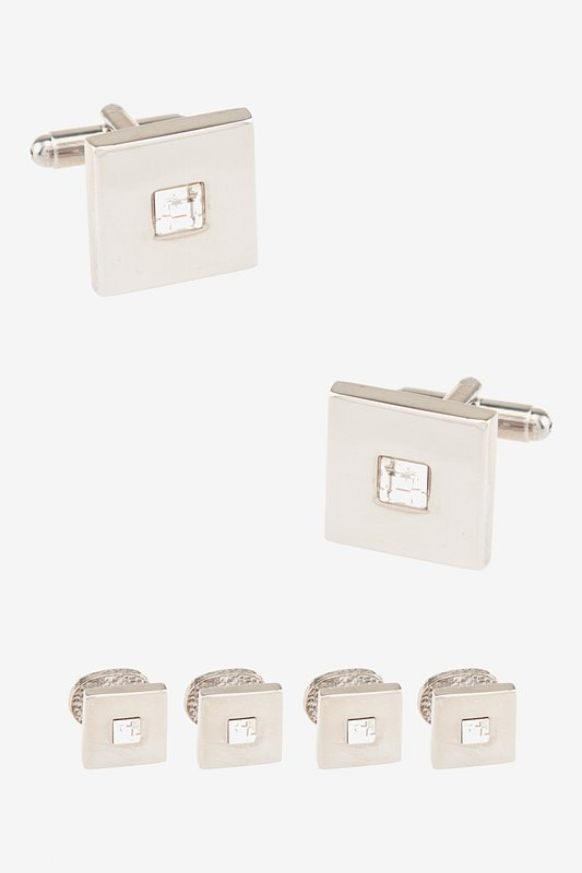 Front and Center Cufflink & Stud Set Photo (0)