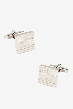 Sunrise Square Cufflinks