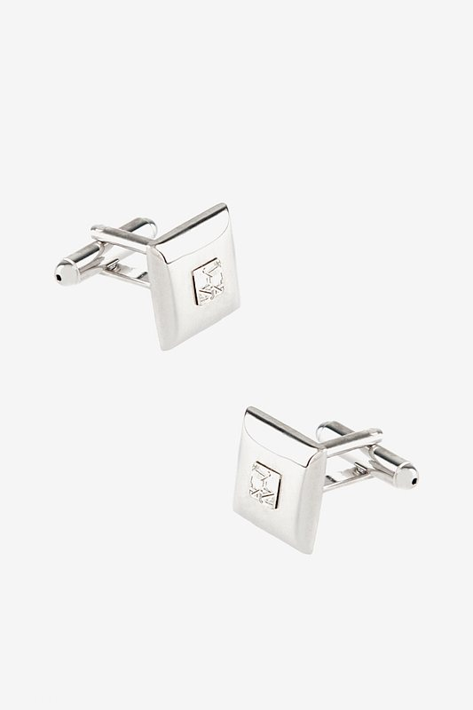 Thatcher Square Clear Cufflinks Photo (0)