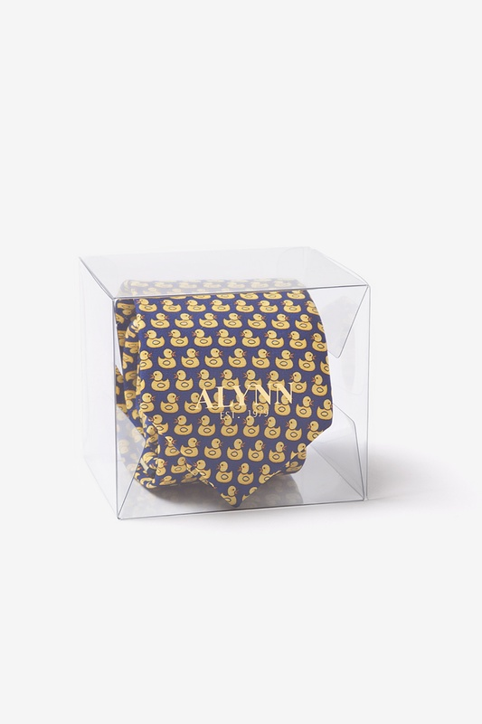 Alynn Tie Cube Clear Display Box