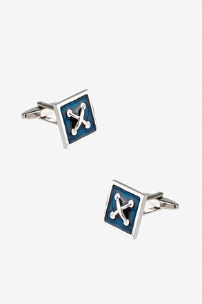 _Square Button Cufflinks_