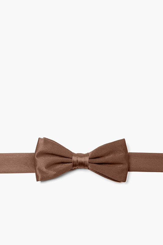 Cocoa Brown Bow Tie For Boys