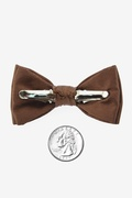 Cocoa Brown Bow Tie For Infants Photo (1)