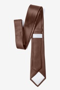 Cocoa Brown Tie For Boys Photo (2)